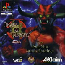 Capa do jogo Advanced Dungeons & Dragons: Iron & Blood -- Warriors of Ravenloft