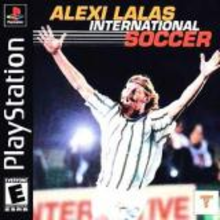 Box art for the game Alexi Lalas International Soccer