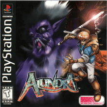Box art for the game Alundra