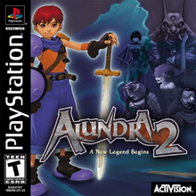 Box art for the game Alundra 2