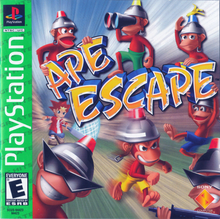 Box art for the game Ape Escape