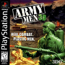 Box art for the game Army Men 3D