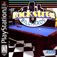 Box art for the game Backstreet Billiards