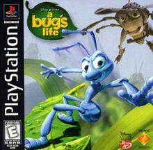 Box art for the game A Bug's Life