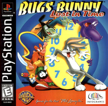 Box art for the game Bugs Bunny: Lost in Time