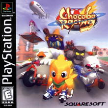 Box art for the game Chocobo Racing
