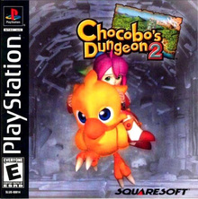 Box art for the game Chocobo's Dungeon 2