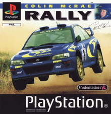 Box art for the game Colin McRae Rally