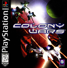Box art for the game Colony Wars