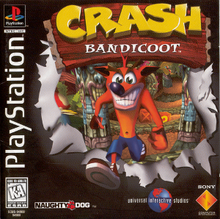 Box art for the game Crash Bandicoot