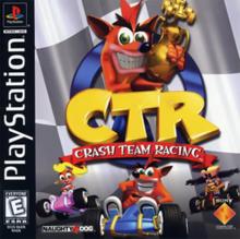 Box art for the game Crash Team Racing