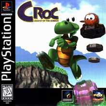 Box art for the game Croc: Legend of the Gobbos