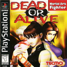 Box art for the game Dead or Alive