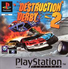Box art for the game Destruction Derby 2