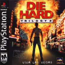 Box art for the game Die Hard Trilogy 2: Viva Las Vegas