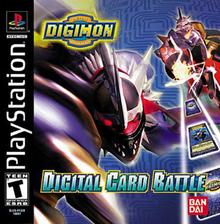 Box art for the game Digimon Digital Card Battle