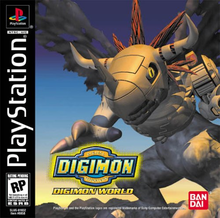 Box art for the game Digimon World