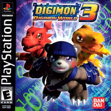 Box art for the game Digimon World 3