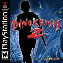 Box art for the game Dino Crisis 2