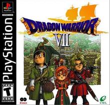 Capa do jogo Dragon Warrior VII