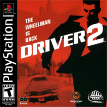 Box art for the game Driver 2
