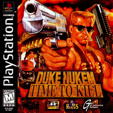 Box art for the game Duke Nukem: Time to Kill