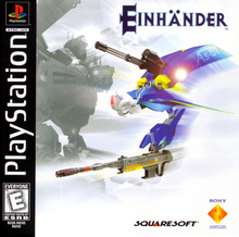 Box art for the game Einhander