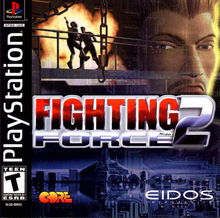 Box art for the game Fighting Force 2