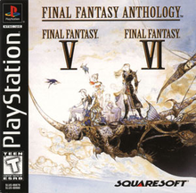 Box art for the game Final Fantasy Anthology