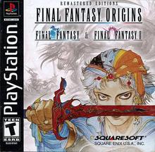Box art for the game Final Fantasy Origins