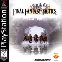 Capa do jogo Final Fantasy Tactics