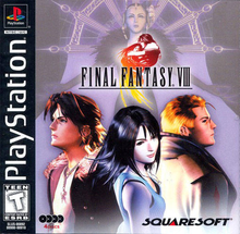 Box art for the game Final Fantasy VIII