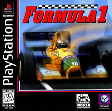 Box art for the game Formula 1
