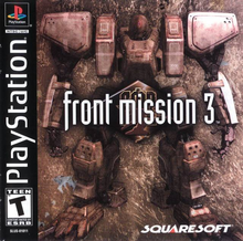 Box art for the game Front Mission 3