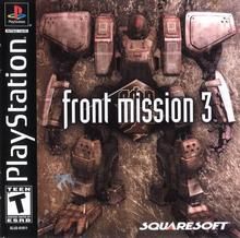 Capa do jogo Front Mission 3