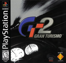 Box art for the game Gran Turismo 2