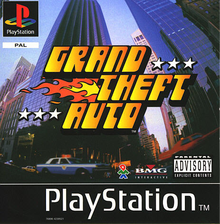 Box art for the game Grand Theft Auto