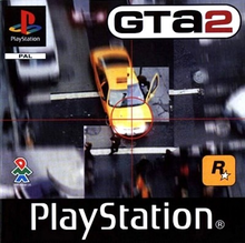 Box art for the game Grand Theft Auto II