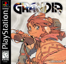 Box art for the game Grandia