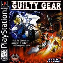 Capa do jogo Guilty Gear