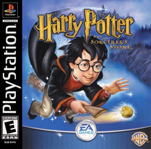 Box art for the game Harry Potter and the Sorcerer's Stone