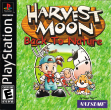 Box art for the game Harvest Moon: Back to Nature