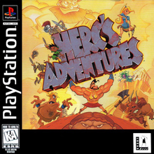 Box art for the game Herc's Adventures