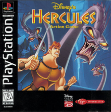 Box art for the game Hercules Action Game