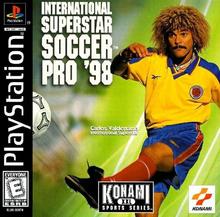 Box art for the game International Superstar Soccer Pro '98