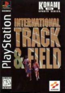 Box art for the game International Track & Field
