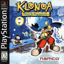 Box art for the game Klonoa: Door to Phantomile