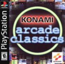 Box art for the game Konami Arcade Classics