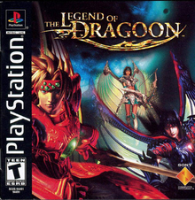 Box art for the game The Legend of Dragoon