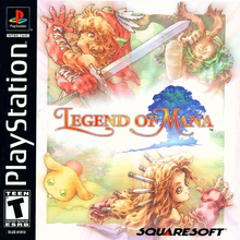 Box art for the game Legend of Mana